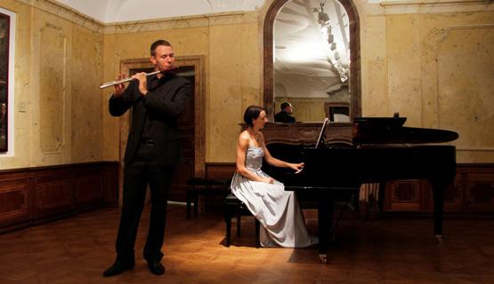 Koncert: Jelena Tihomirović, klavir i Metod Sironić, flauta – 29.04. u 17 sati
