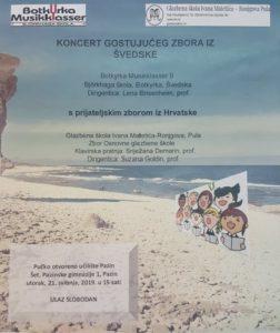 """Koncert pjevačkog zbora mladih """"Bjorkhage"""" iz Švedske – 21. svibnja u 15 sati"""