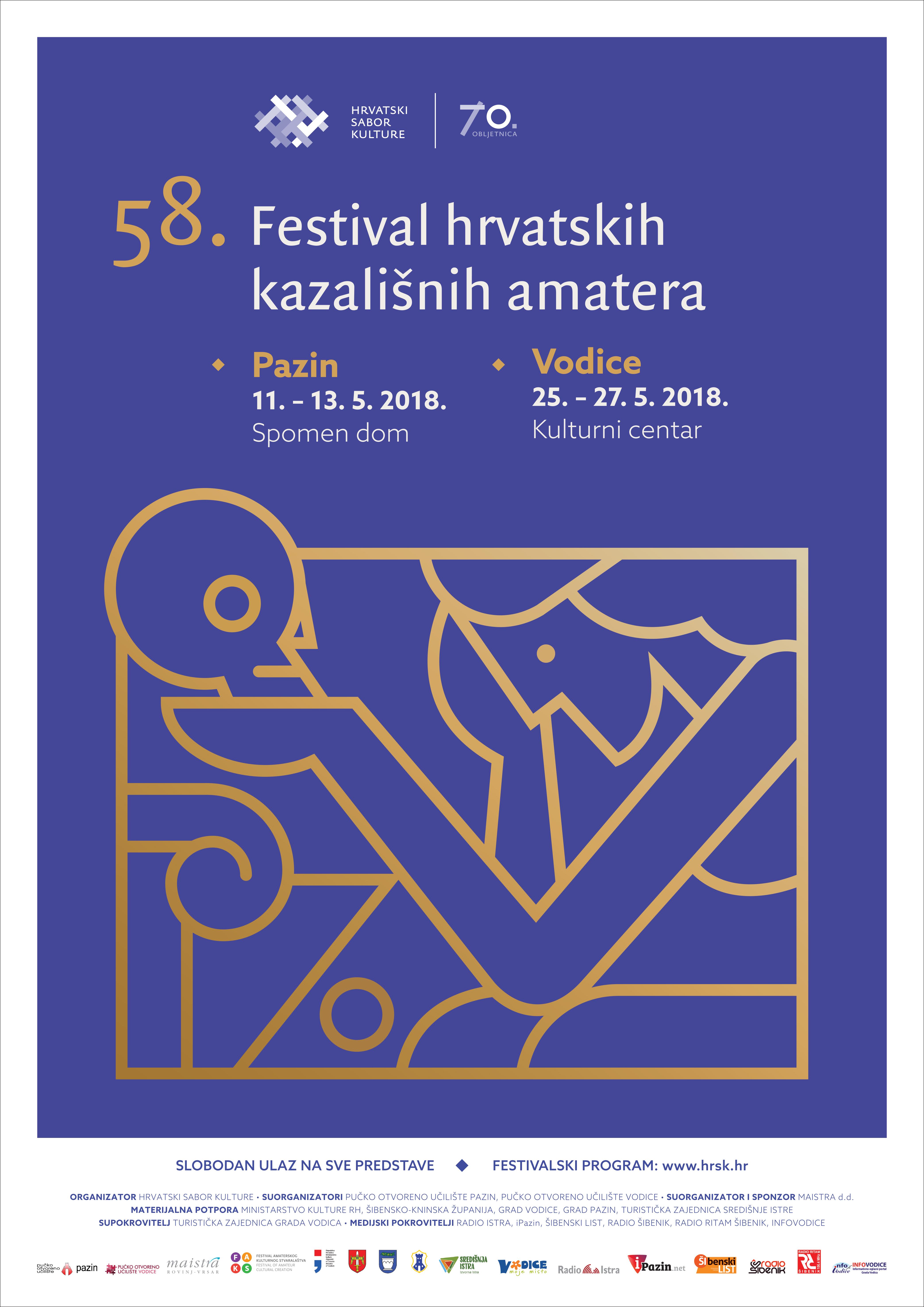 58. FESTIVAL HRVATSKIH KAZALIŠNIH AMATERA