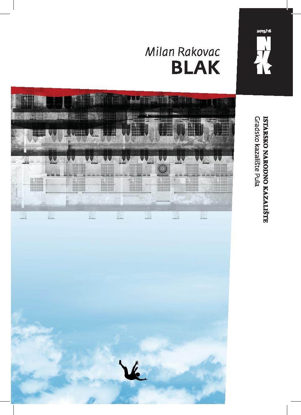 Kazališna predstava – BLAK – pet, 24. veljače [20,00]