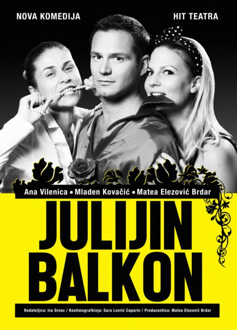 Predstava Julijin balkon 8. veljače u Spomen domu
