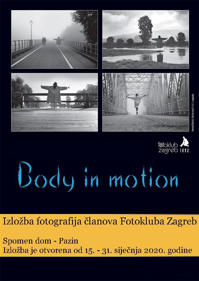 """Izložba fotografija """"Body in motion"""" – 15. – 31. siječnja 2020."""