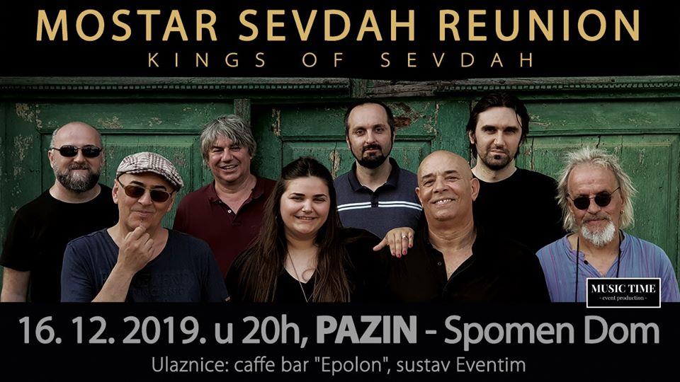 OTKAZIVANJE KONCERTA- Mostar Sevdah Reunion PAZIN
