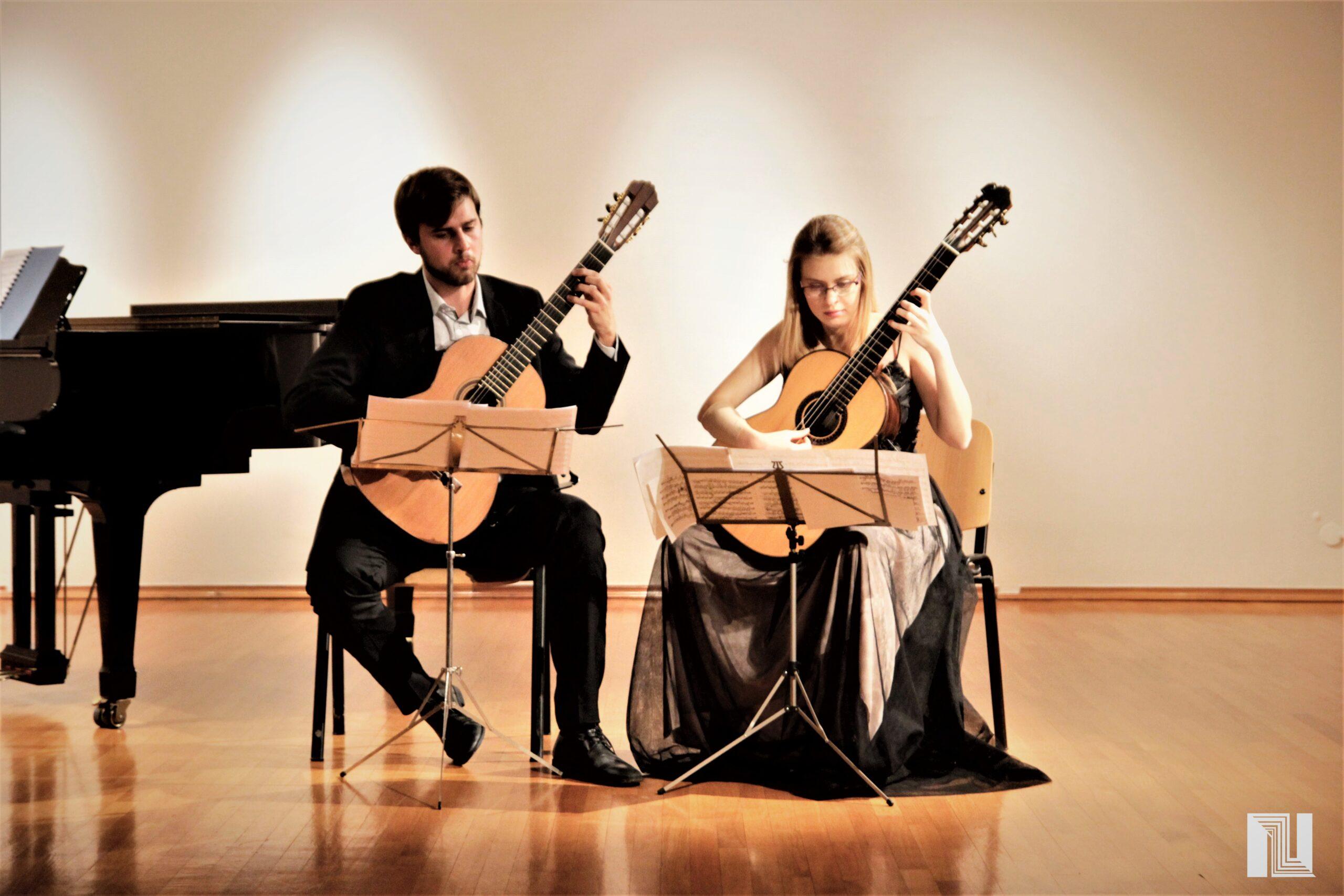 Koncert klasične gitare – Duo Šimatović – Utorak 10.08. – Kaštel – Pazin