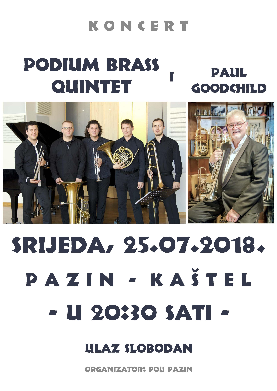 Podium Brass Quintet u Kaštelu