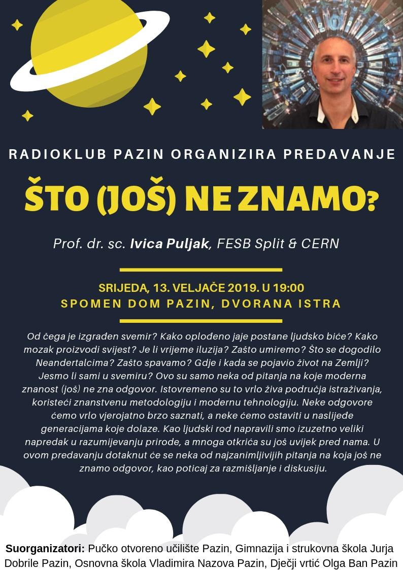 Prof. dr. sc. lvica Puljak: Što (još) ne znamo?