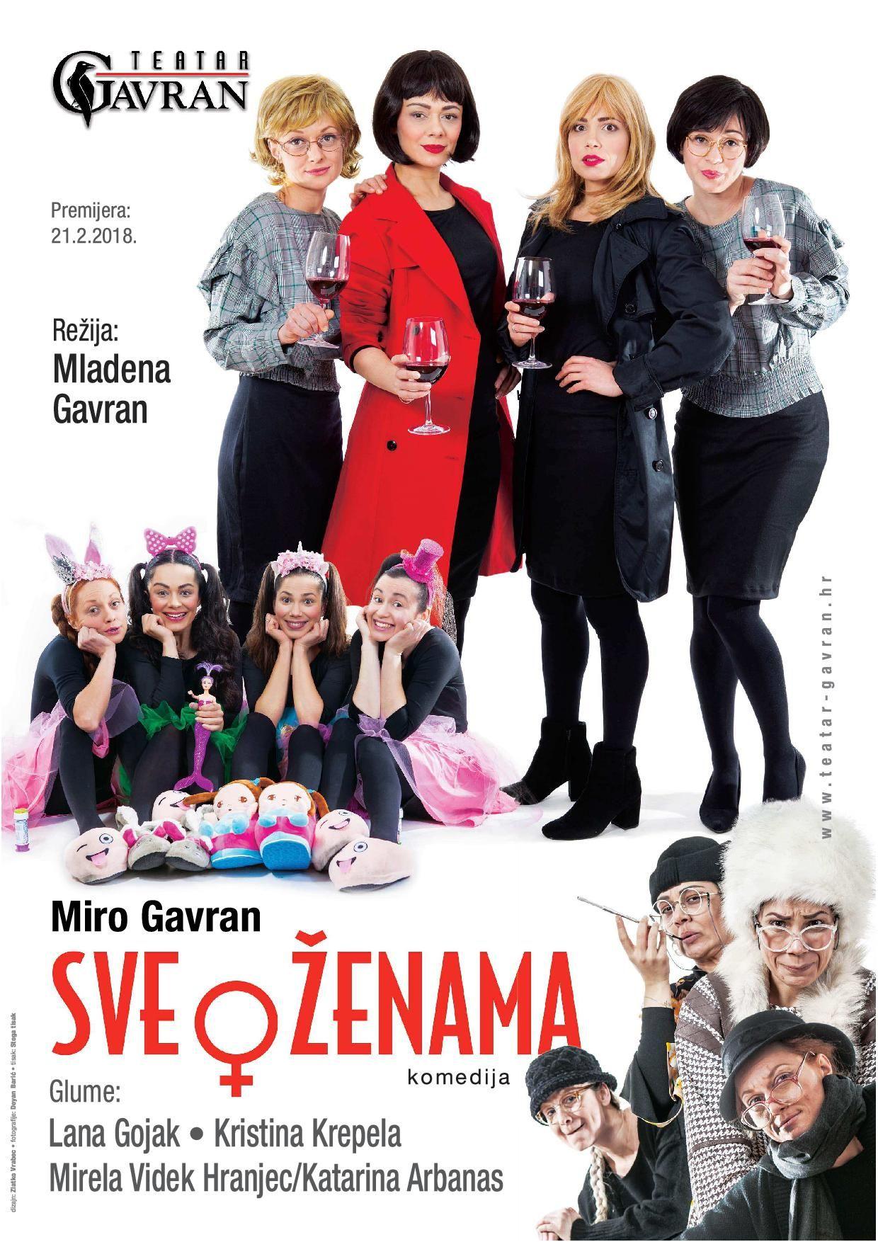 Sve o ženama – komedija – 08. 03. u 20 sati