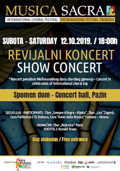 Međunarodni dan zborskog pjevanja: Koncert prijateljstva zborova – 12. listopada u 18 sati