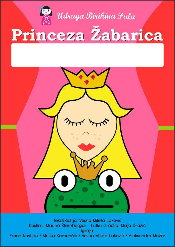 Kazališna predstava – Princeza Žabarica